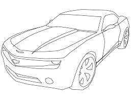 luxury camaro coloring page 21 for line drawings with camaro
