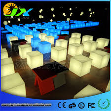 led cubes 20cm 30cm 40cm led outdoor cube chair square led lighting chair