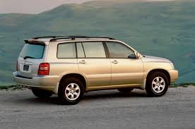 lexus rx 400h ncap 2001 toyota highlander reviews and rating motor trend