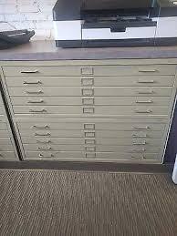 flat file 5 drawer architect blueprint filing cabinet various