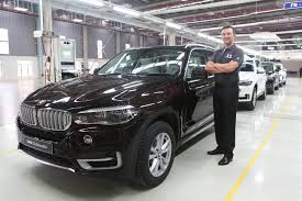 bmw factory new bmw x5 rolls out from chennai plant
