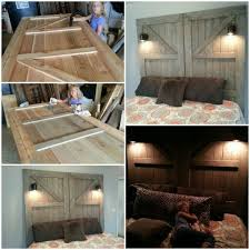 how to make your own king size headboard within fancy homemade
