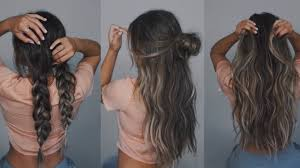 easy hairstyles with extensions bellami unboxing youtube
