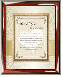 personalized wedding photo frame thank you wedding poetry gift picture frame groom