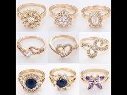 simple diamond rings simple gold diamond rings for