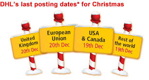 last posting dates for christmas christmas posting dates dhl service point