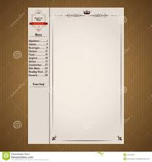 free food menu template sales promotion letter examples
