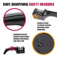 knife sharpener priority chef knife sharpener 2 stage knife sharpening system