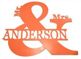 last name monogram monogram mr mrs last name monogram style door hanger