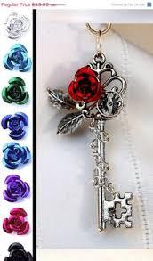 rose key necklace images Best rose key necklace photos 2017 blue maize jpg