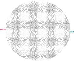 coloring page pretty mazes to print thanksgiving maze