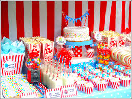 interior design awesome circus themed birthday party decorations