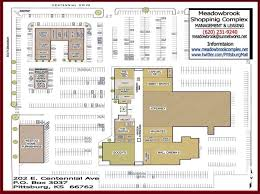 Pizzeria Floor Plan by Meadowbrook Mall Tenant Directory