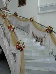 Stairs Decorations by Wedding Staircase Decoration Ideas Bing Images Wedding Tulle