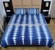 Tie Dye Bed Sets Indigo Dye Bedspread With Pillow Cover Tie Dye Bedding Set Indian