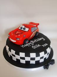lightning mcqueen cakes lightning mcqueen cake lightning moulded from rice crispie flickr
