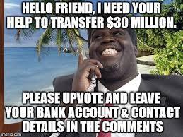 Scam Meme - scam imgflip