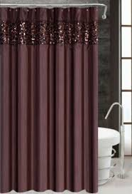 Brown And White Shower Curtains Poetica Faux Silk Aqua Blue Teal Brown Turquoise Fabric Bathroom