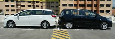 mazda5 vs toyota mazda 5 mpv toyota wish 2 0 deluxe review singapore oneshift com