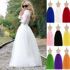 Wedding Skirt Tulle Wedding Skirt Ebay