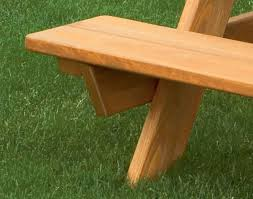 cypress kid u0027s picnic table