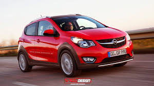 vauxhall viva opel karl vauxhall viva rocks rendered rugged and civilized