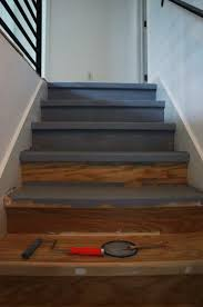 How To Cover Stairs With Laminate Flooring Diy How I Made Over My Stairs Before U0026 After Pictures