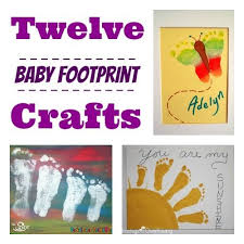 baby footprint ideas 12 clever crafts featuring baby s footprints cafemom