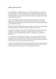 93 nursing cover letter download resumes in word format