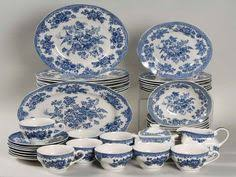 antique china pattern set of 3 mid century c 1960s washington pottery by buyfromgroovy