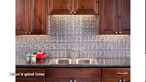 ceiling tile backsplash kitchen fake it frugal punched tin kitchen