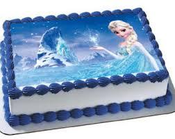 frozen birthday cake frozen birthday cake etsy
