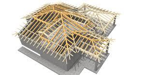 tetto padiglione coperture in legno lamellare abitare la tua casa il nostro