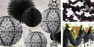 city wedding decorations black wedding decorations city
