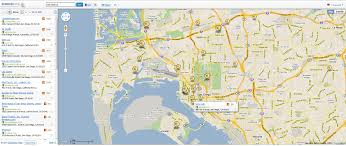 Google Maps San Diego by Semrush Geo Tool B2b Marketing Blog Webbiquity