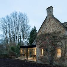 modern kitchen in old house 17th century british cottage will get a glassy modern extension