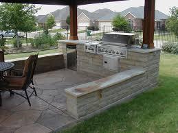 outdoor kitchen bbq designs nice natural stone outdoor kitchen barbeque design with chrome