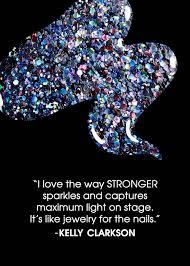 deborah lippmann x kelly clarkson stronger nail polish quote