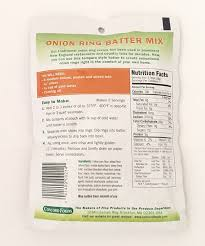 amazon com concord foods onion ring batter mix tempura style