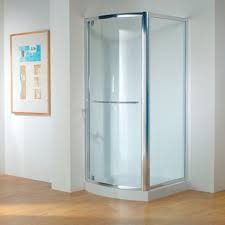 kudos original bowed pivot shower door uk bathrooms