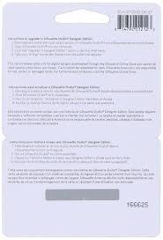 amazon com silhouette studio designer edition software card