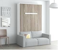 armoire lit avec canapé canape lit armoire lit escamotable avec canape pas cher