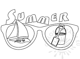 summer color pages summer colouring pages for kids coloring page