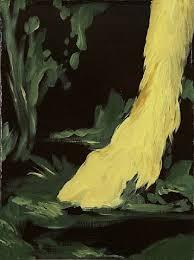 the cloven hoof in the woods artist kilimnik american b