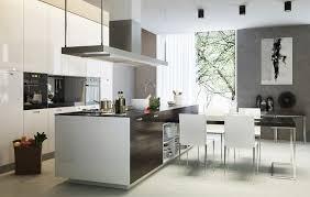 cuisine avec ilot central pour manger cuisine moderne avec ilot central pour manger cuisine idées de
