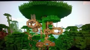 Cool Minecraft tree house   Minecraft seeds and ideas  Minecraft