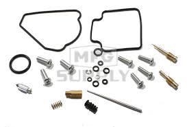complete atv carburetor rebuild kit for 99 14 honda trx400ex