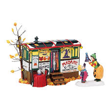 miniature halloween village amazon com dept 56 original snow village
