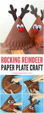 rocking paper plate reindeer easy peasy and fun