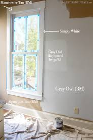 Cottage Interior Paint Colors How To Lighten Or Darken Paint The Lettered Cottage